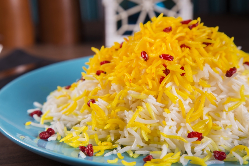 Rice with barberry
